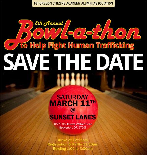Bowlathon Flyer 2017 - March 11th at Sunset Lanes